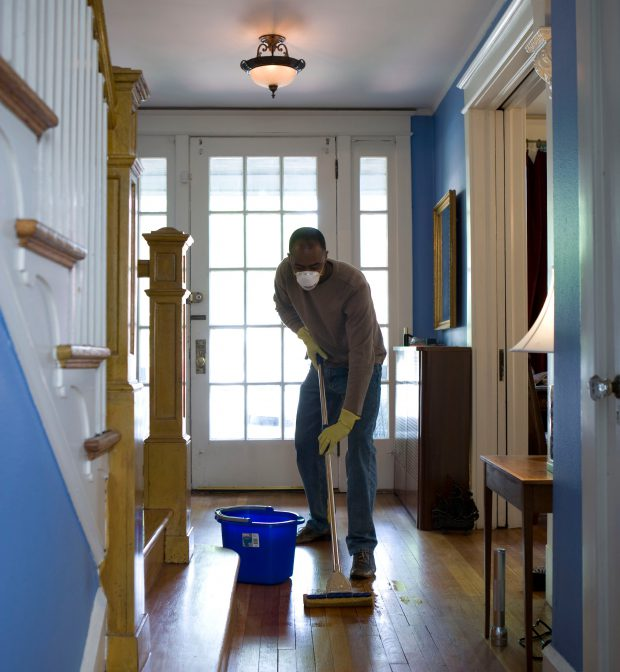 Residential Hard Floor Cleaning