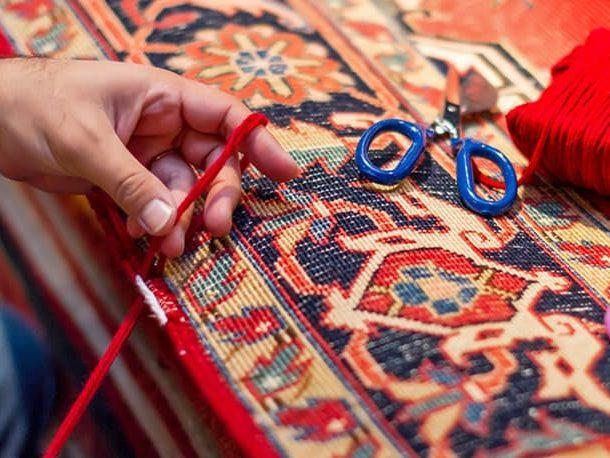 Handmade Rug Repairing Service