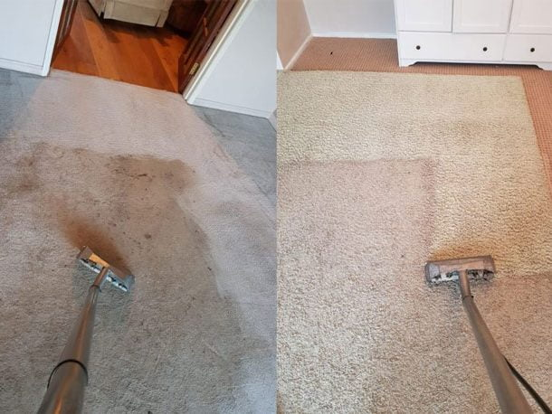 Stain Removal Service Before And After